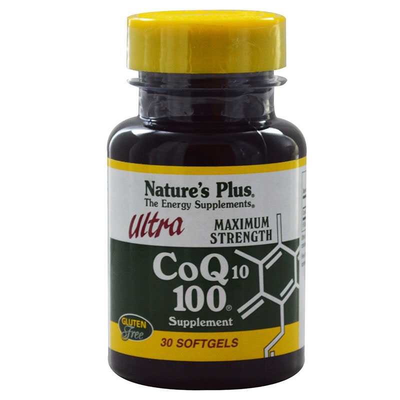 nature's plus Co Q10 100mg Αντιοξειδωτική δράση, 100mg 30caps Zarachispharmacy Overespa