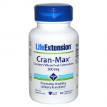 Life extension cran-max cranberry extract 500mg 60 -zarachispharmacy overespa